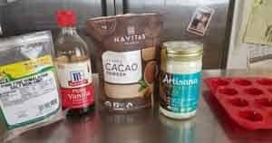 Ketogenic Coconut Fatbomb Ingredients