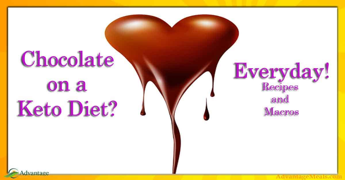 Can I eat chocolate on a Keto Diet? - Advantage Meals Keto Diet