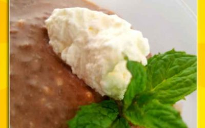 Overnight Mint Chocolate Keto Pudding Recipe