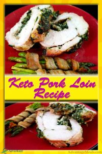 Ketogenic Stuffed Pork Loin Recipe