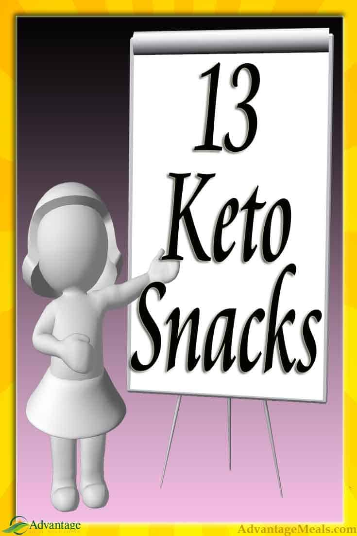 Keto Snacks not only keep you going until your ketogenic supper, they are packed full of good fats that fuel your ketones and assure you stay in Ketosis day in and day out. This is our list of our favorite Keto Snacks and we know you will love them too. Enjoy and let us know what snacks we should try!  #KetoDiet #Keto #KetoSnacks #KetoSnack #AdvantageMeals