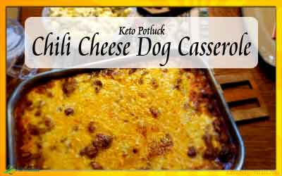 Keto Chili Cheese Dog Casserole Recipe