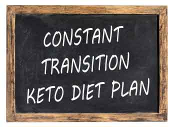 The Constant Transition Keto Diet Plan is the way to make ketosis a regular part of your life