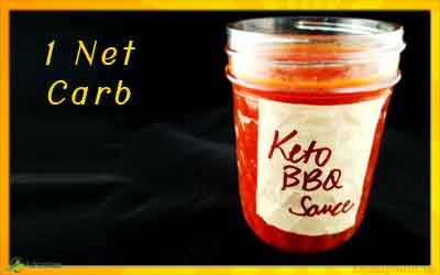 Keto BBQ Sauce Recipe – Low Carb – Just 1 Net Carb