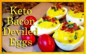 Keto Bacon Deviled Eggs Recipe