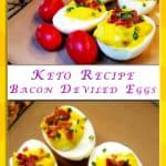 Keto Deviled Egg Recipe with Bacon