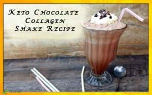 Keto Chocolate Collagen Shake Recipe