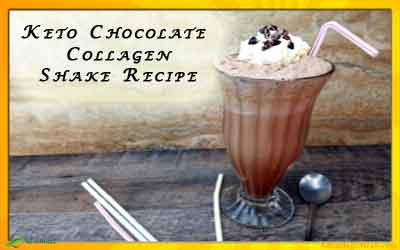 Keto Chocolate Shake Recipe with Collagen