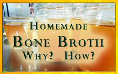 The Benefits of Bone Broth & How to make Bone Broth
