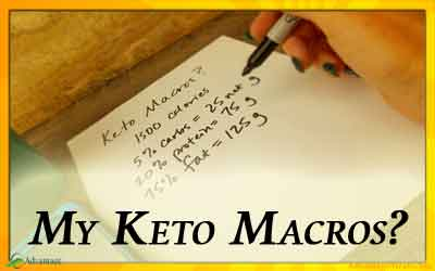 Keto Macros – What should mine be?