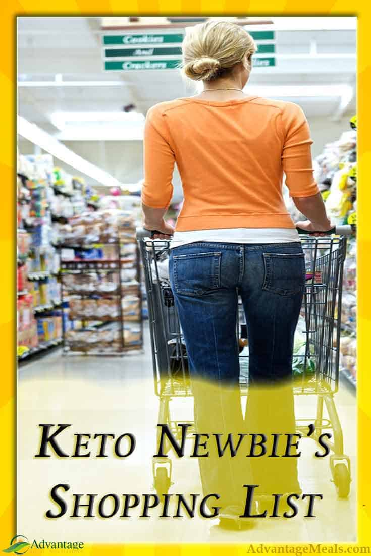 Beginners Keto Shopping List - The 15 Essential Grocery Items to get you into Ketosis Fast and make your transition to a Keto way of eating easier. #Keto #KetoDiet #KetoShoppingList #Ketogenic #Ketosis