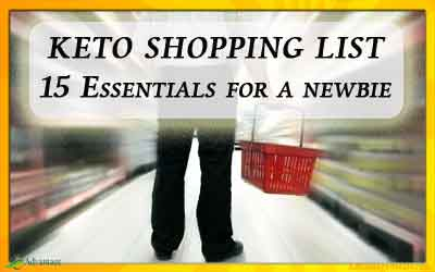 Keto Shopping List – The 15 Essentials