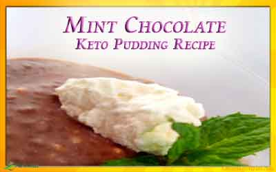 Easy Overnight Mint Chocolate Keto Pudding Recipe
