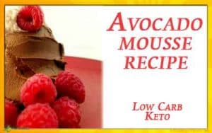 Keto Avocado Mousse Recipe