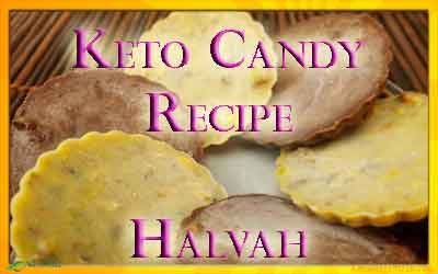 Keto Candy – Halvah Tahini and Pistachio Fat Bomb