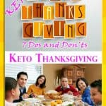Keto Thanksgiving Dos and Don'ts