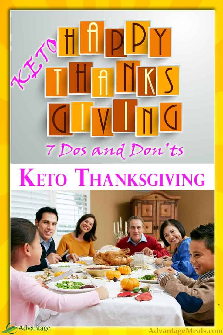 A Keto Thanksgiving that is good for your keto diet but still a Thanksgiving feast that the family will enjoy?  Seven Dos and Don\'ts for a Keto Thanksgiving.  #KetoDiet #Keto #KetoThanksgiving #Thanksgiving