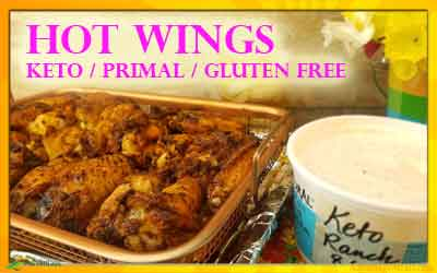 Keto Hot Wings Recipe – Sugar & Gluten Free