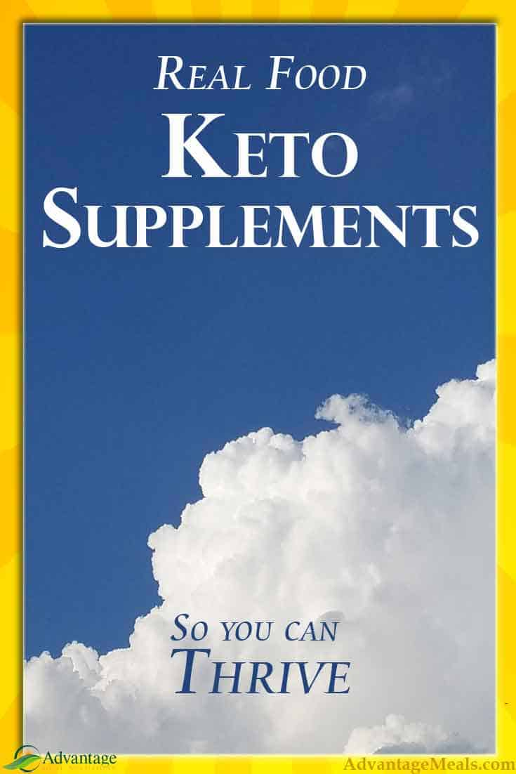 Do you need Keto Supplements?  Angela from Advantage Meals tells you what supplements she takes, why, and how she supplements her keto diet and previously on her primal diet.  #KetoDiet #PrimalDiet #Supplements #KetoFlu #KetoSupplements #Keto #AdvantageMeals