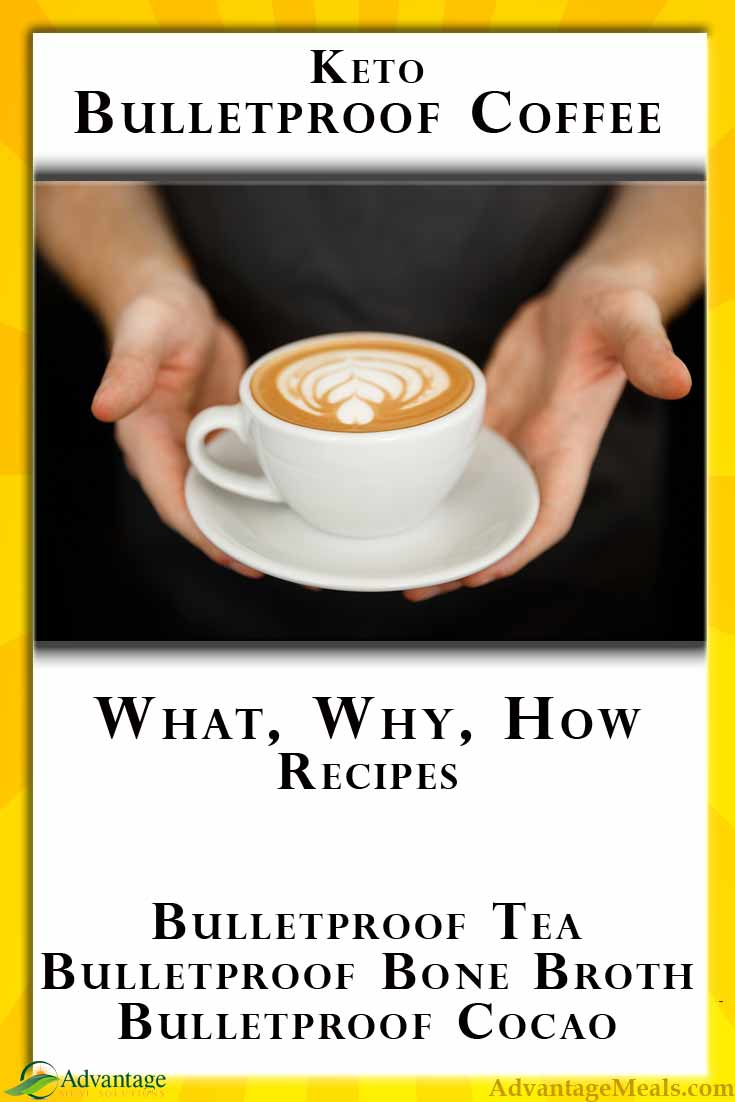 Looking for alternative Bulletproof Coffee Recipes? What kinds of fat and how much in your fatty coffee? Bulletproof Tea, Bulletproof BoneBroth, Bulletproof Cocoa, and more.  #Bulletproof #BulletproofCoffeeRecipes #Keto Recipes #FatBoosters #FatBombs #FatCoffee