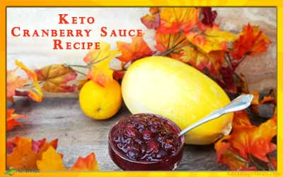 Keto Cranberry Sauce Recipe