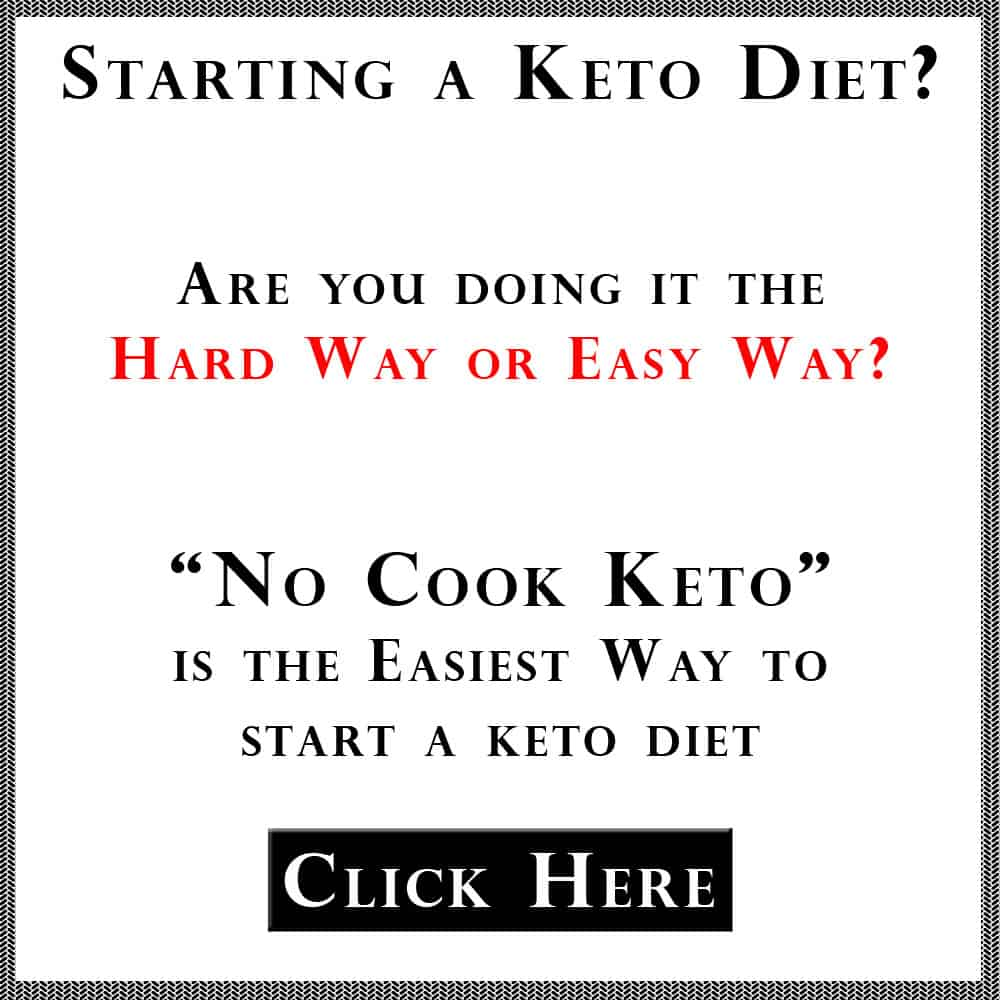 No Cook Keto Meal Plan Ad