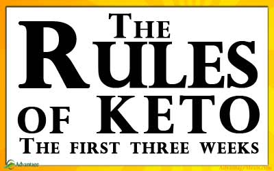 Keto Diet Beginner Guide: Keto Rules for the First Three Weeks