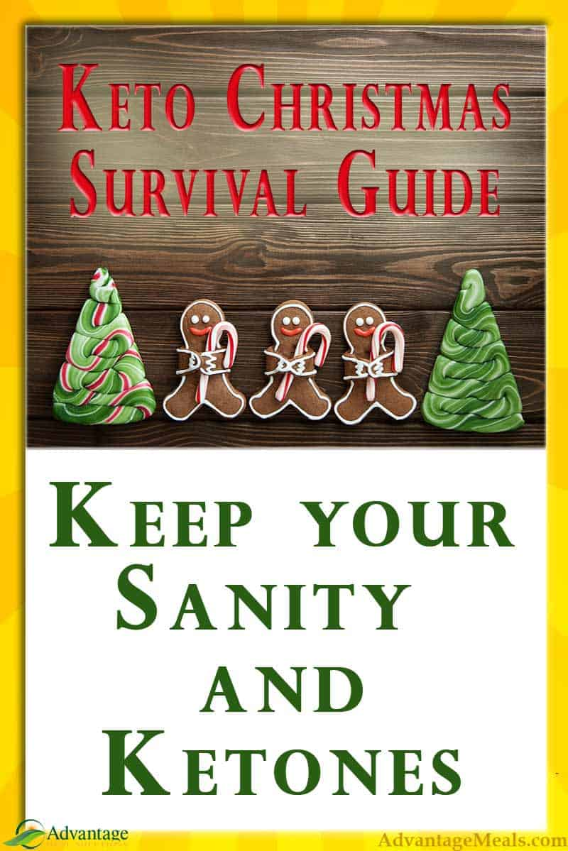 Celebrating your first Keto Christmas can be challenging. But if you keep these Tips & Tricks in mind when planning your Holiday Celebrations, you can keep your sanity & ketones.  A great resource for Keto Beginners and those who are thinking about starting a Keto Diet over the holidays. #Keto #Christmas2018
