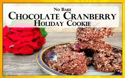 No Bake Chocolate Cranberry Cookies – Low Carb, Paleo, Primal