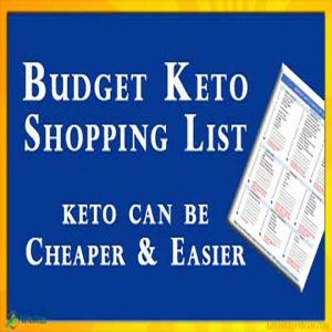 Downloadable Budget Keto Shopping List PDF for beginners