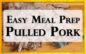 My favorite Easy Pulled Pork Recipe. Great for Keto Meal Prepping.