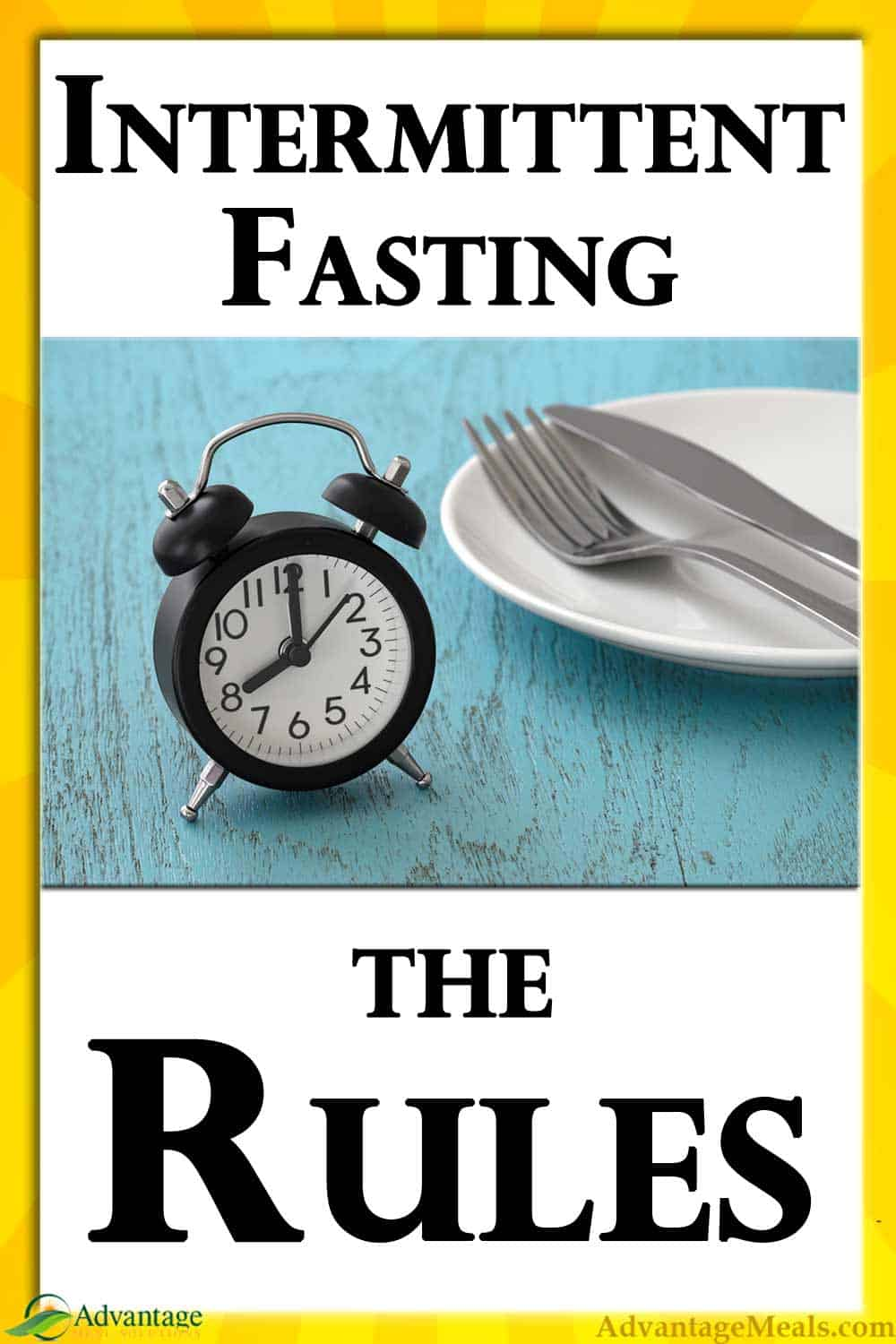 Intermittent Fasting Rules. | Follow these Intermittent Fasting Rules when you add Intermittent Fasting to your diet to lose weight fast and effortlessly.  Intermittent Fasting is the secret to losing more weight faster, especially when combined with a ketogenic diet. #IntermittentFasting #IF