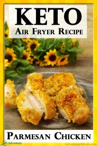 Super Easy Keto Air Fryer Chicken Thighs with Parmesan Recipe