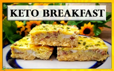 Keto Breakfast Casserole Recipe – An Easy Low Carb Breakfast