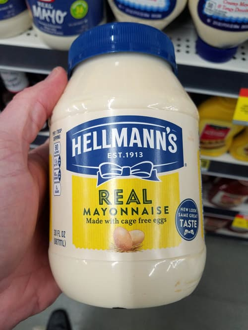 Real Mayonnaise is Low Carb and great for a Keto Diet.