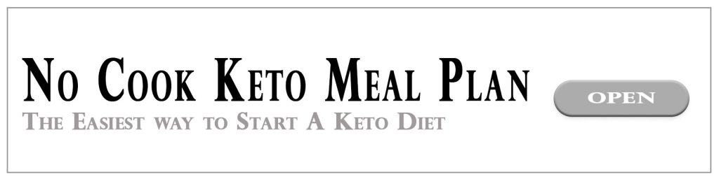 No Cook Keto Meal Plan Advertisment
