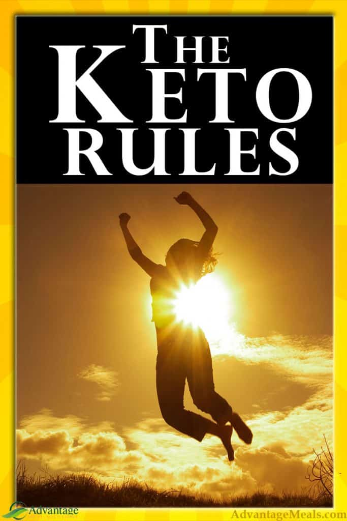 Image of the rules of keto