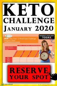 The 2020 New Years Keto Challenge