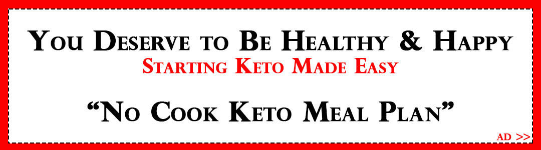 Ad for Easy Keto Meal Plan