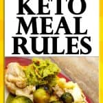 Basic Keto Meal Rules Template