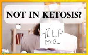 If you're on a keto diet for three weeks or more and still are not in ketosis, this article will help you figure out why.