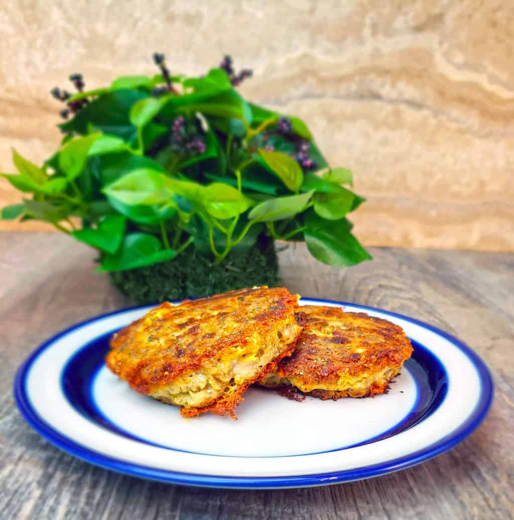 Easy low carb recipe for crab cakes