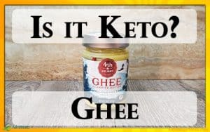 Ghee is a Keto Food