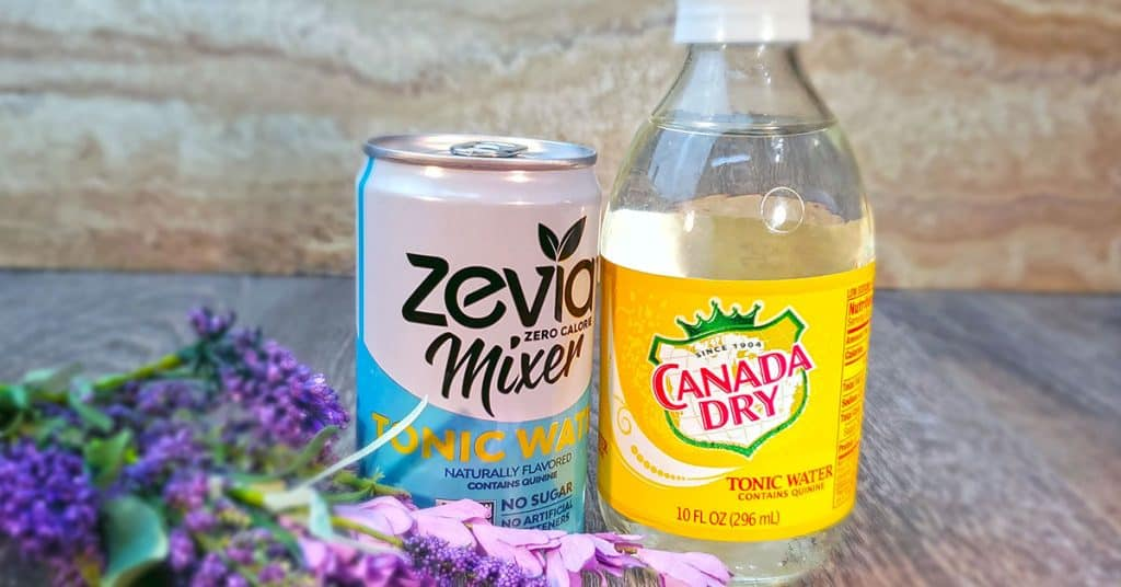 which is best diet or regular tonic water
