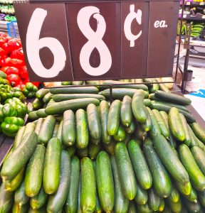 Image of Low Carb Cucumbers